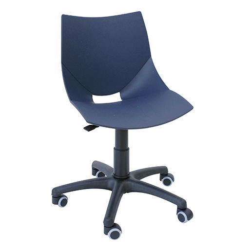 Silla escritorio shell silla oficina barata y dise o for Silla escritorio diseno