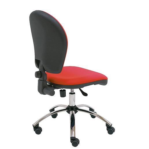 Silla de ordenador viena silla giratoria de buen precio for Sillas tapizadas precios