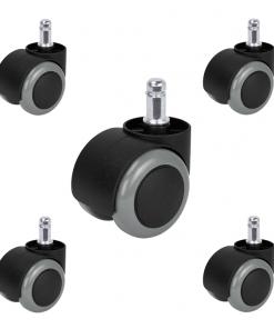 rueda-negra-giratoria-parque-11-50-mm-pack-5-unidades