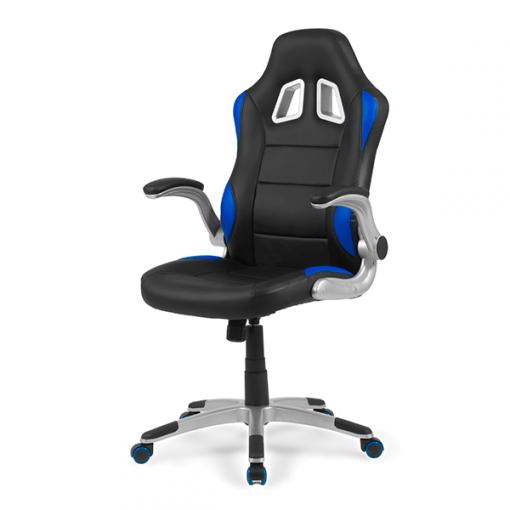 sillas-gaming-mugello-azul-gamer-frontal