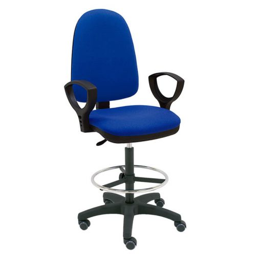 taburete-giratorio-torino-base-negra-ruedas-goma-azul