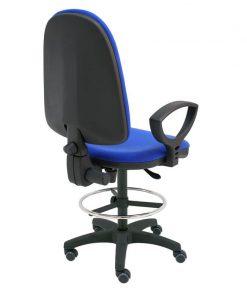 taburete-giratorio-torino-base-negra-ruedas-goma-azul-trasera